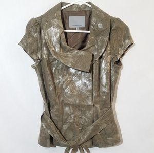 classiques entire linen blouse top